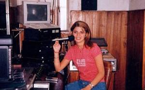 En mis comienzos radiales haciendo Toque Invisible por FM Unión (1998)