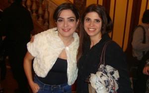 Con Paula Barrientos en los ACE2012 www.toqueinvisible.com.ar