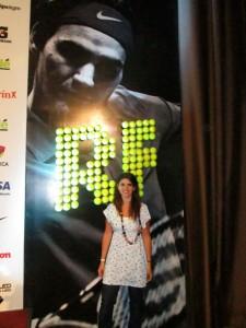 Cubriendo la Conferencia de Prensa de Roger Federer - Del Potro para Toque Invisible (2012)
