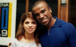 Entrevista en portugués a  Alexandre Pires (de So Pra Contrariar - 1999)