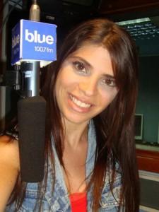 Al aire en Blue 100.7 (2011)