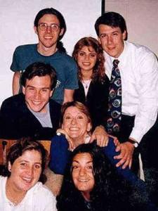 Con compañeros del ISER (1998)